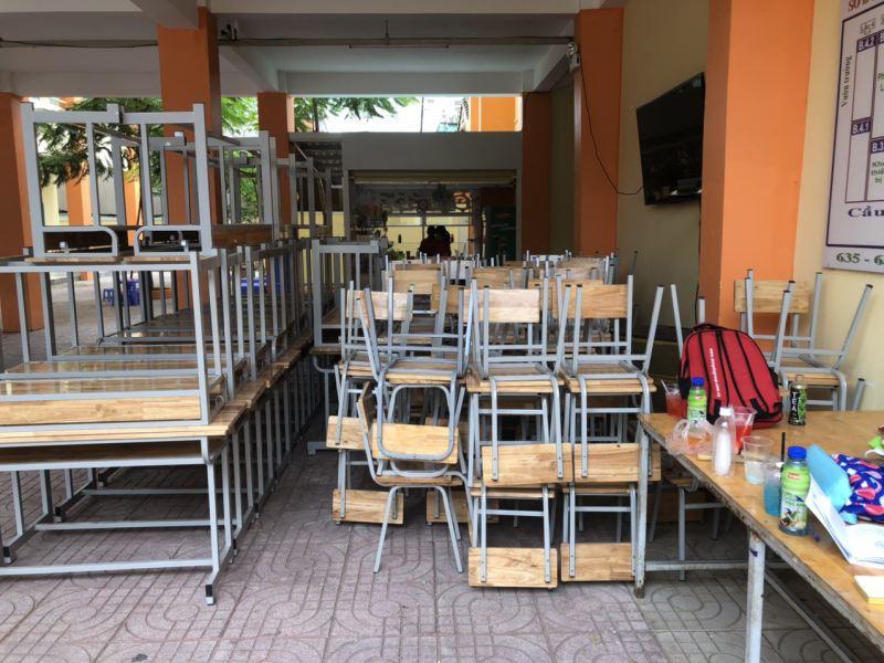 Công trình bàn ghế học sinh Trường THCS Bình Trị - Bình Tân HCM