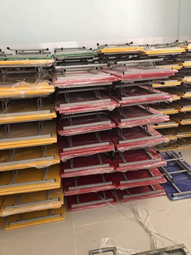 Cung cấp bàn ghế học sinh cho mầm non Hoa Sen - tỉnh Bình Dương