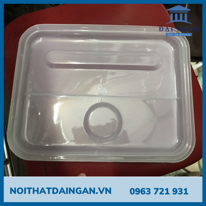 Nắp khay cơm nhựa K01-02